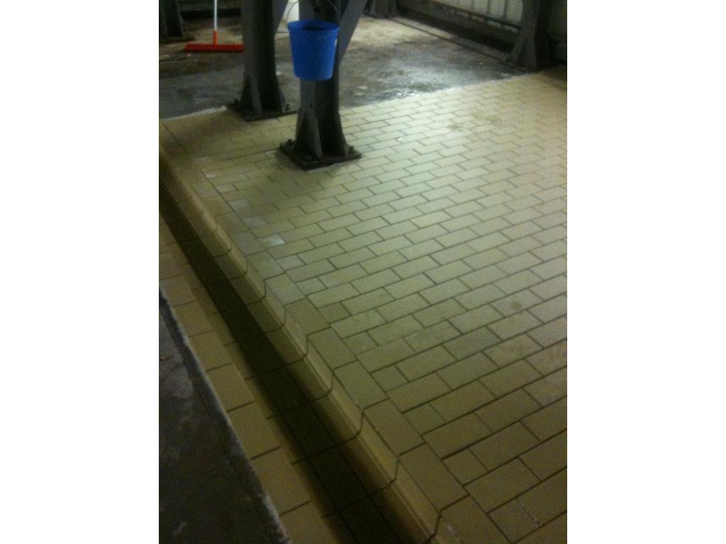 Brasserie Pietra sol industriel Carrelage anti dérapant