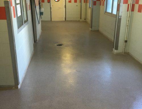 Rénovation sol cuisine hôpital à Marseille