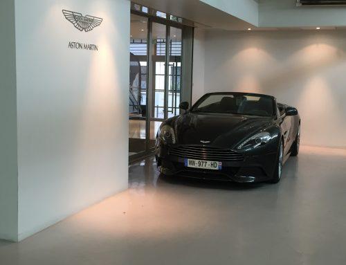 Résine polyuréthane Aston Martin Paris
